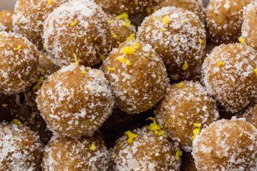 mandarin bliss balls