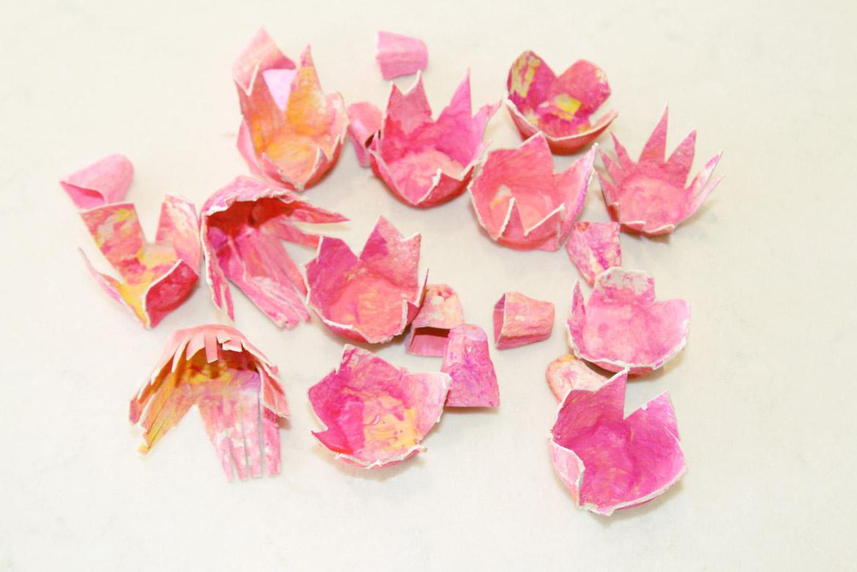 Boho Cardboard Flower Wall Hanging The Natural Parent Magazine