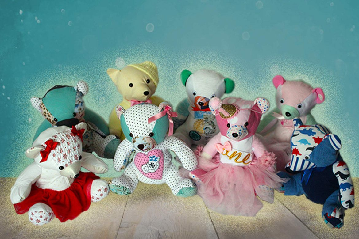Keepsake Bears rabbit  Handcrafted from your own clothing MADE TO ORDER Memory