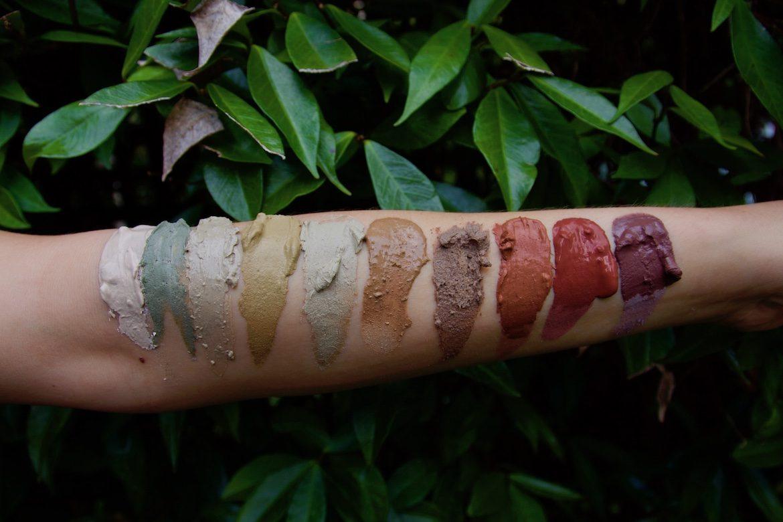 clay on arm