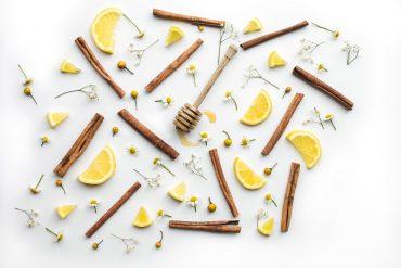 cinnamon lemon and honey