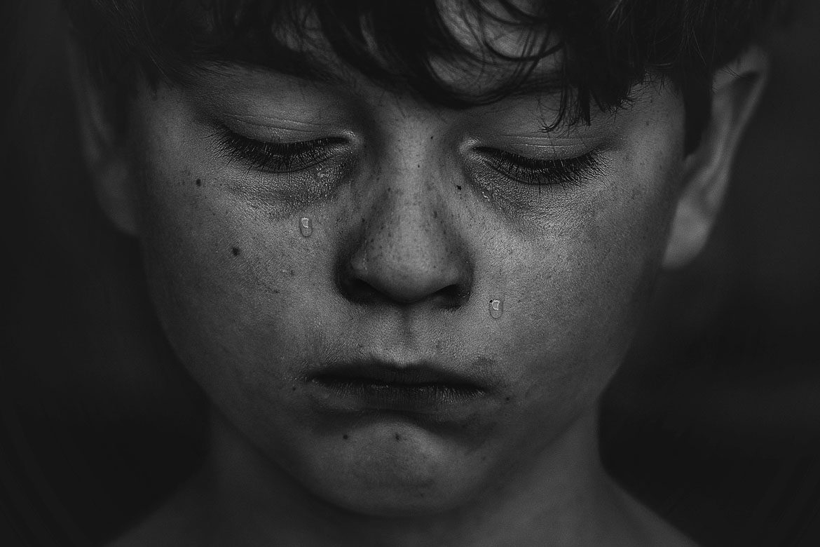 How crying benefits boys strong minds and happy hearts